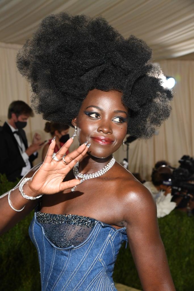 Lupita Nyong'o's Art-Inspired Hairstyle at the Met Gala 2021