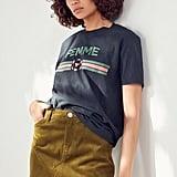 BDG Frayed Corduroy Miniskirt