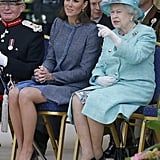 "The Queen: ""Just Squint and Point; It Makes Them Think You're Paying Attention."""