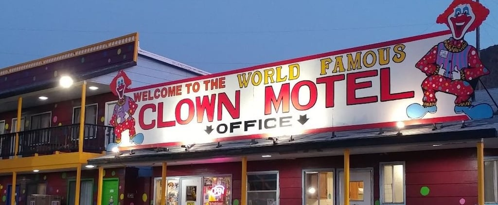 There's a Clown Motel in Nevada — See the Creepy Pictures