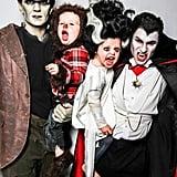 Neil Patrick Harris and David Burtka as Frankenstein and Dracula