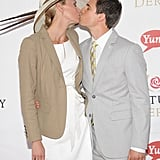 Niki Taylor and her husband Burney Lamar locked lips on the red carpet at the Kentucky Derby in 2011.