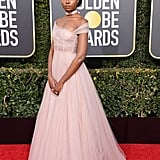 KiKi Layne at the 2019 Golden Globes