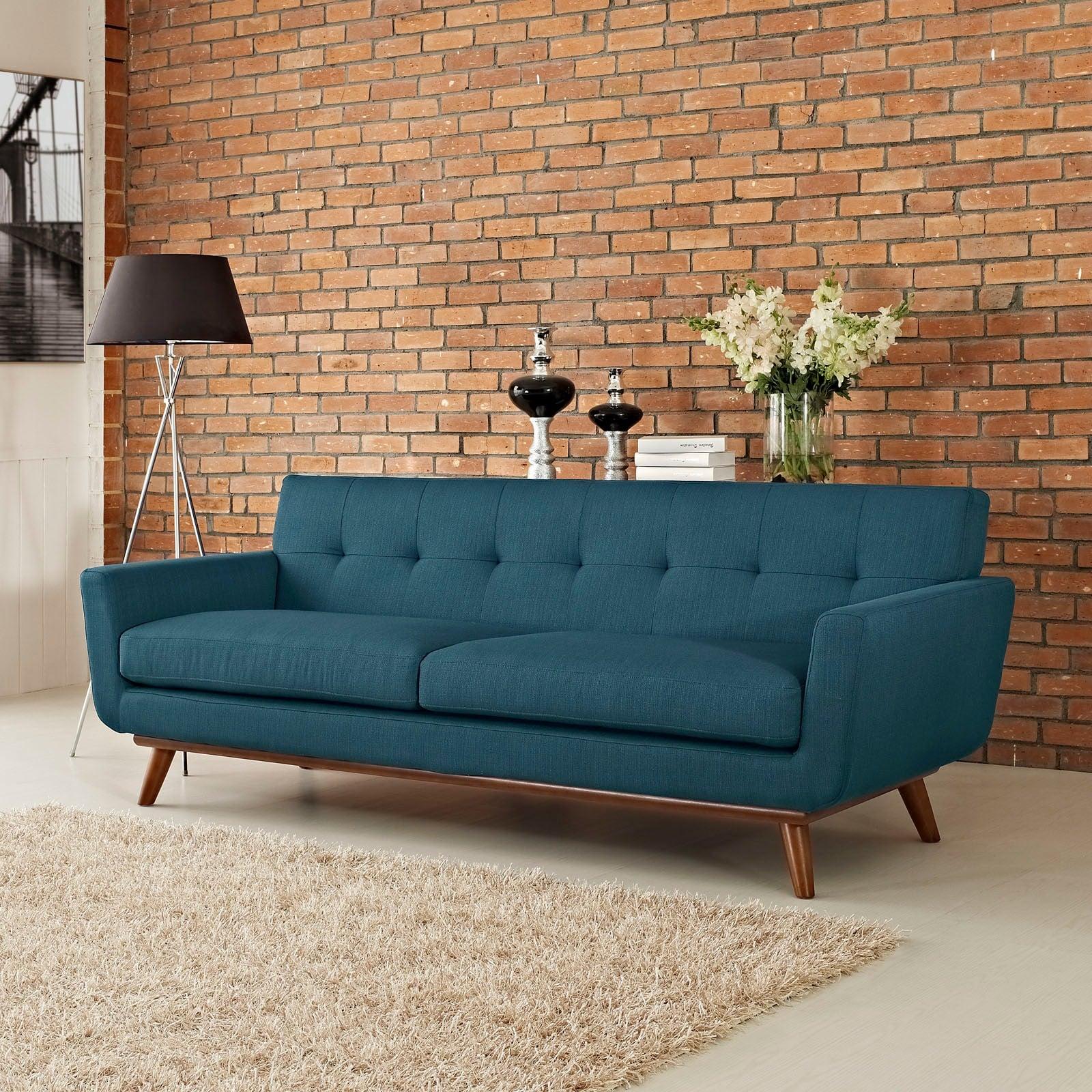 Modway Engage Upholstered Tufted Sofa | Best Affordable Midcentury  Furniture | POPSUGAR Moms Photo 5