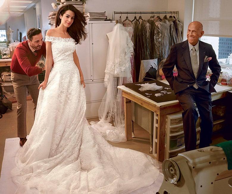 Amal Alamuddin Wedding Dress Popsugar Fashion