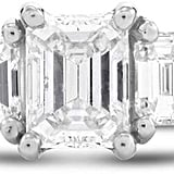 Lustro Emerald Cut Diamond Ring