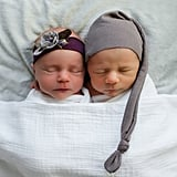 Sweet Newborn Photos Capture the Devastating Final Moments of 1 Twin's Life