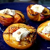 Grilled Peaches and Mascarpone With Fennel Pollen