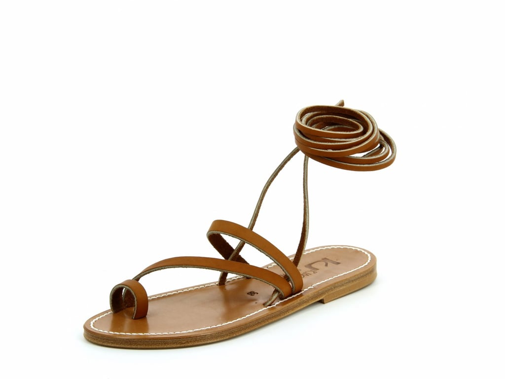 K. Jacques Ellada Pul Natural Leather Sandals