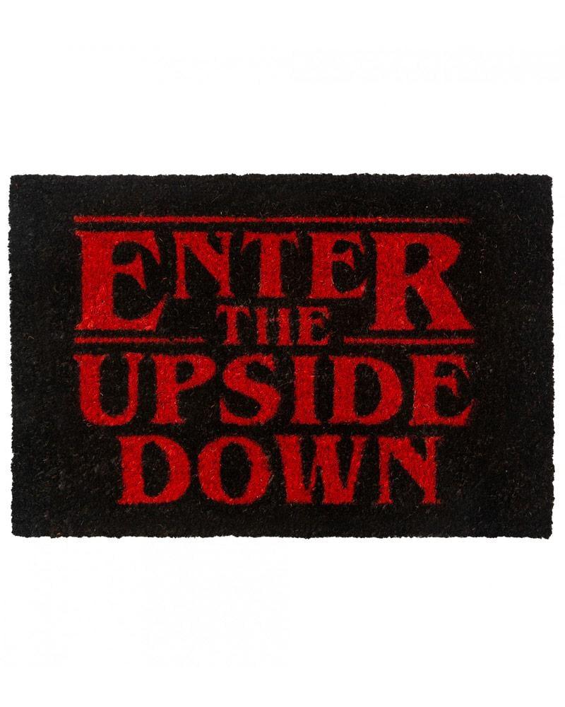 Stranger Things Enter The Upside Down Door Mat