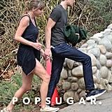 Taylor Swift and Joe Alwyn Holding Hands in Malibu in March 2018