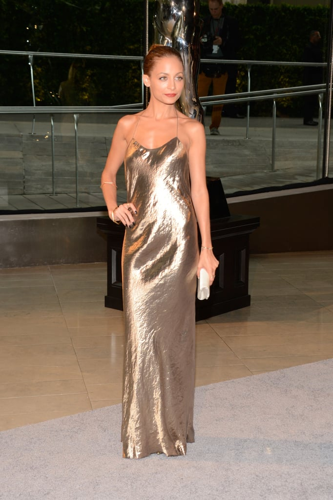 Nicole Richie at the CFDA Fashion Awards in NYC.