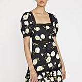 Alice + Olivia Wylie Floral Mini Dress
