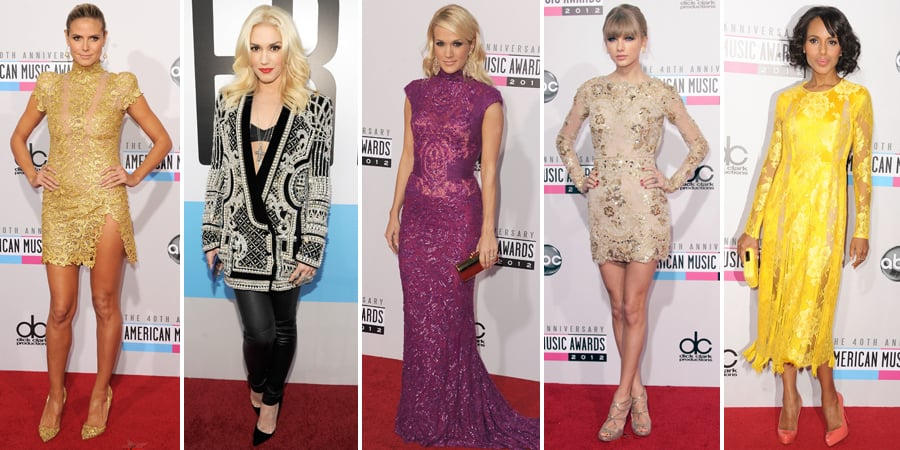 Fashion at the 2012 American Music Awards