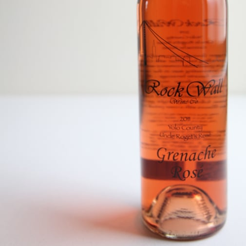 2011 Rock Wall Grenache Rose Review