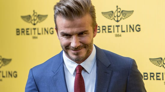 David Beckham Does Push-Ups on Top of a Piano in His Underwear -- Watch!