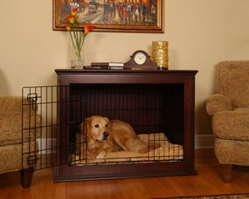 Crate Haven Pet Crates Pull Double Duty