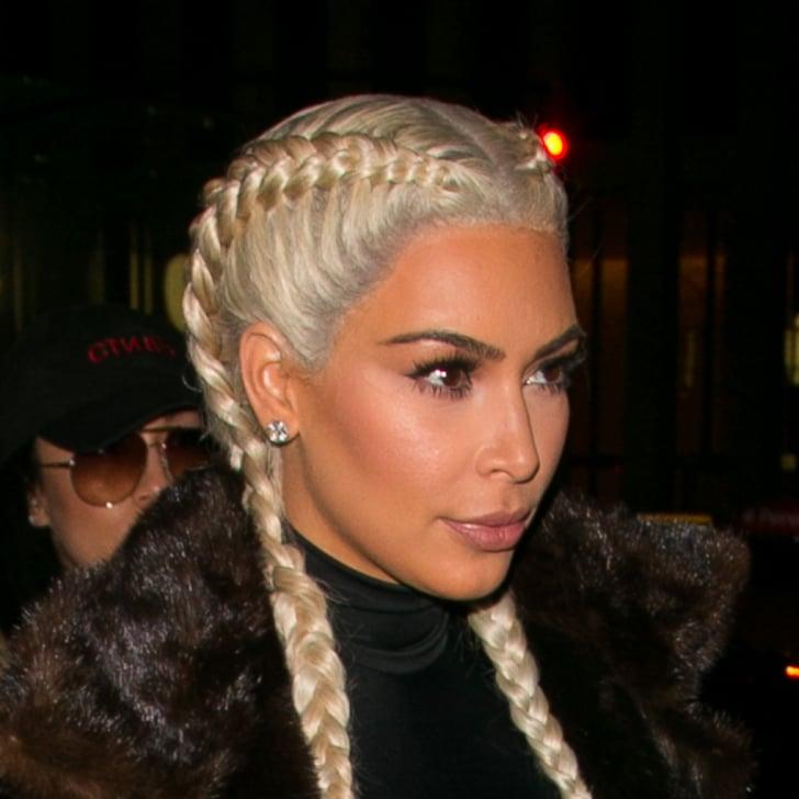 Blond Hair And Dark Eyebrows Popsugar Beauty