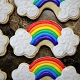 Rainbow Cloud Cookies