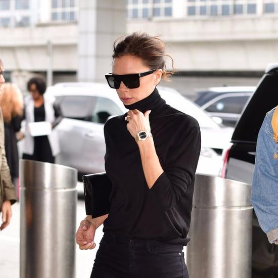 Victoria Beckham Aeroplane Beauty Routine