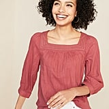 Old Navy Relaxed Square-Neck Top