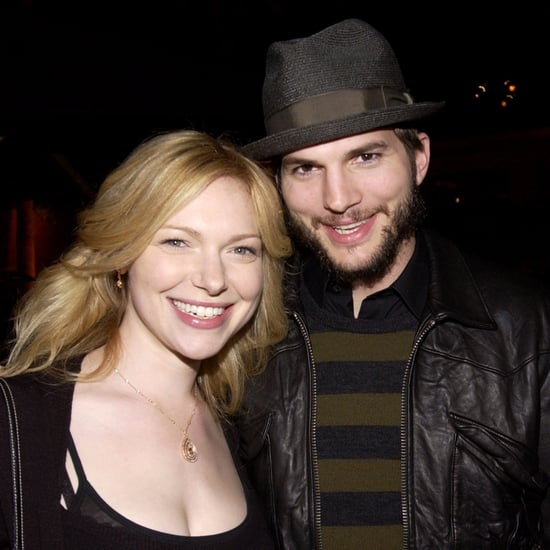 Ashton Kutcher and Laura Prepon on Live With Kelly Oct. 2016