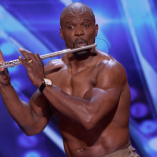Terry Crews Plays Flute on America's Got Talent Video