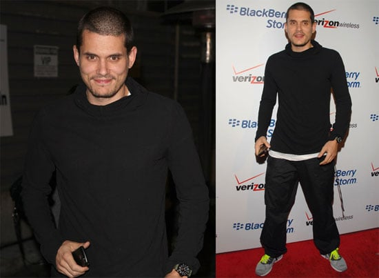 "Photos of John Mayer at BlackBerry Storm Launch Party, Recently Endorsed Barack Obama ""Hope Is Not a Buzz Word"""