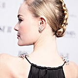 Pinterest appreciates a good braid, and this week, Kate Bosworth's mohawk hairstyle was the most repinned look.