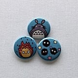 Studio Ghibli Button Set ($4)