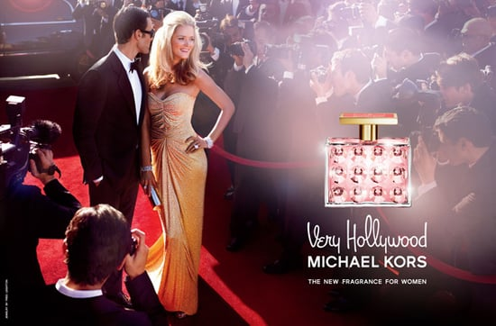 Very Hollywood Michael Kors Advertisement with Carmen Kass