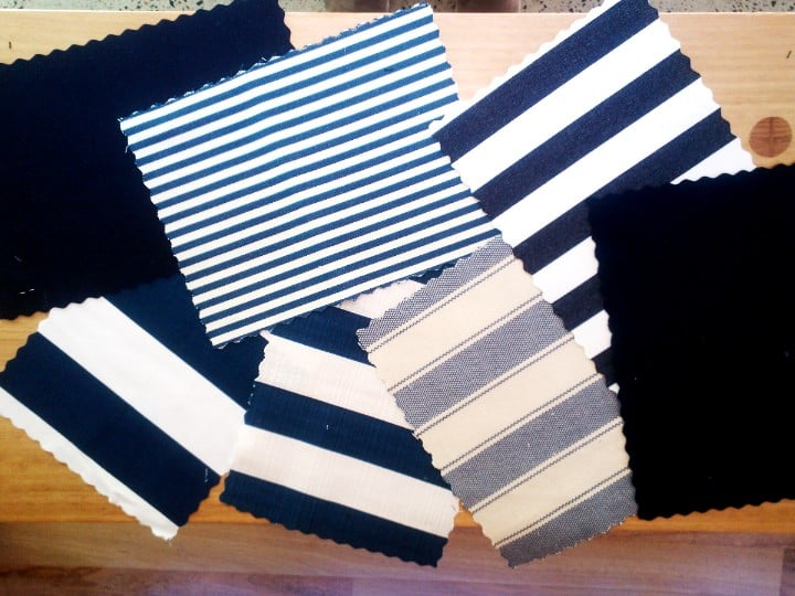 Trying to select the perfect stripe for some outdoor cushions. Any help?