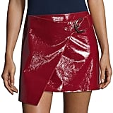 Isabel Marant Lindsie Leather-Wrapped Skirt