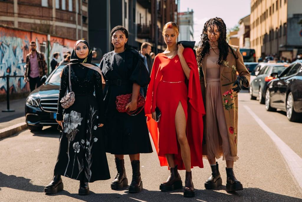 Best Street Style at Milan Fashion Week Spring '21