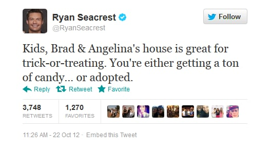 Meet you on the front doorstep, Ryan Seacrest?