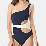 Vince Camuto Colorblocked One-Piece Swimsuit