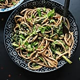 Peanut Soba Noodles With Broccoli Rabe