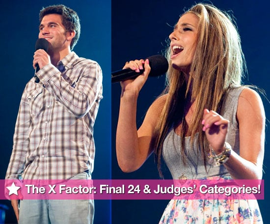 Full Gallery Of Photos Of Final 24 Contestants In The X Factor 2009 Plus Judges' Categories