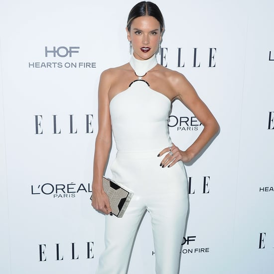 Alessandra Ambrosio's David Koma Jumpsuit October 2016
