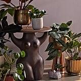 Goddess Ceramic Side Table