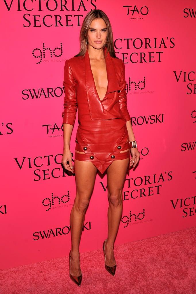 Alessandra Ambrosio at the Victoria's Secret Fashion Show.