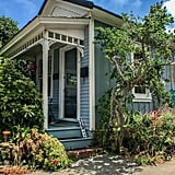 The Little Blue House in Pacific Grove, California