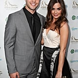 Dean Geyer and Jillian Murray