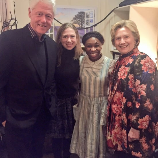 Hillary Clinton Got Standing Ovation at The Color Purple