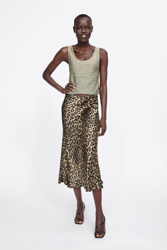 Zara Metallic Thread Top