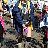 Cara Delevingne at Glastonbury 2016