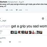 Beliebers vs. Lena Dunham