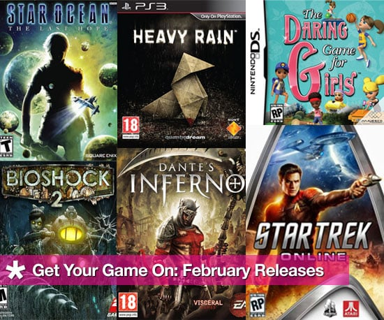 February Video Game Releases