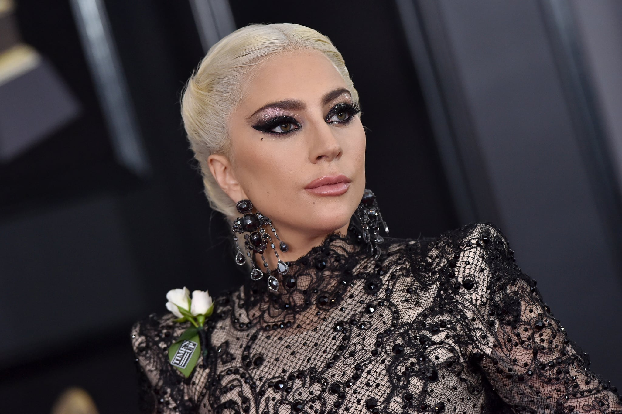 NEW YORK, NY - JANUARY 28:  Recording artist Lady Gaga attends the 60th Annual GRAMMY Awards at Madison Square Garden on January 28, 2018 in New York City.  (Photo by Axelle/Bauer-Griffin/FilmMagic)