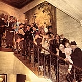Nicole Richie and her family posed for a silly photo on Christmas. Source: Instagram user nicolerichie